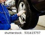 detail image of mechanic hands... | Shutterstock . vector #531615757