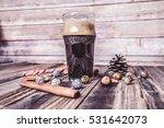 christmas beer  | Shutterstock . vector #531642073