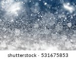 magic sparkling holiday... | Shutterstock . vector #531675853