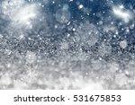 magic sparkling holiday... | Shutterstock . vector #531675853