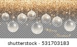 christmas decoration... | Shutterstock .eps vector #531703183