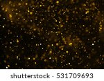 christmas glitter lights... | Shutterstock . vector #531709693