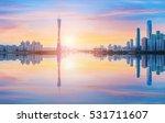 guangzhou beautiful city scenery | Shutterstock . vector #531711607