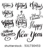 merry christmas and happy new... | Shutterstock .eps vector #531730453