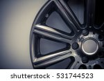close up shot of a new car rim. | Shutterstock . vector #531744523