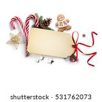 christmas holiday decoration ... | Shutterstock . vector #531762073