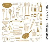 kitchenware | Shutterstock .eps vector #531774487