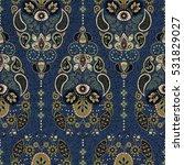 vertical ornamental seamless...   Shutterstock .eps vector #531829027