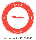 java circular patriotic badge.... | Shutterstock .eps vector #531831343
