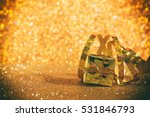 abstract image of christmas... | Shutterstock . vector #531846793