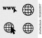 internet    vector icons  set   Shutterstock .eps vector #531853597