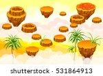 landscape with islands. vector...   Shutterstock .eps vector #531864913