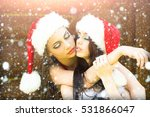 pretty girls with beautiful... | Shutterstock . vector #531866047