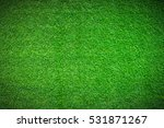 green grass background vignette ... | Shutterstock . vector #531871267