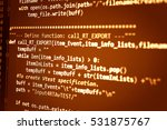computer programming often... | Shutterstock . vector #531875767