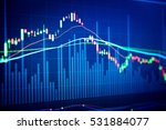 financial market is a market... | Shutterstock . vector #531884077