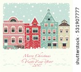 the cover of the card. depicts... | Shutterstock .eps vector #531907777