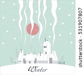 the cover of the card. depicts... | Shutterstock .eps vector #531907807