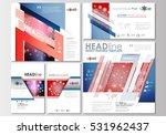 social media posts set.... | Shutterstock .eps vector #531962437