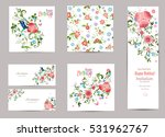 fine collection of greeting... | Shutterstock .eps vector #531962767