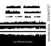 skylines. vector city... | Shutterstock .eps vector #531963727