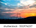 sunset clouds   Shutterstock . vector #531976237