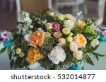 Wedding Decoration. Bouquet Of...