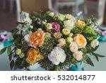 Wedding Decoration. Bouquet Of...