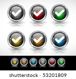buttons for web | Shutterstock .eps vector #53201809