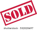 sold stamp | Shutterstock .eps vector #532020697