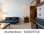 interior of a hotel room  | Shutterstock . vector #532025713