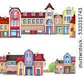 vector illustration of stylized ...   Shutterstock .eps vector #532031743