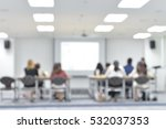 staff training at the... | Shutterstock . vector #532037353