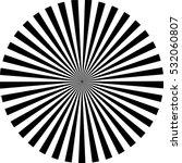 Black Sunburst Vector