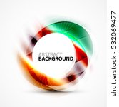 colorful abstract circle banner ... | Shutterstock . vector #532069477