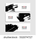 black red abstract design. ink... | Shutterstock .eps vector #532074727