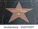 hollywood  ca   december 06 ... | Shutterstock . vector #532074997
