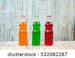 an assortment of colorful soda... | Shutterstock . vector #532082287