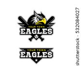 eagle's head logo for a... | Shutterstock .eps vector #532084027