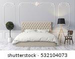 3d render of beautiful  bedroom | Shutterstock . vector #532104073