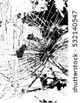 broken glass overlay texture... | Shutterstock .eps vector #532140547