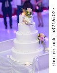 wedding cake | Shutterstock . vector #532165027