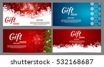 christmas and new year gift... | Shutterstock .eps vector #532168687