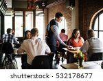 restaurant chilling out classy... | Shutterstock . vector #532178677