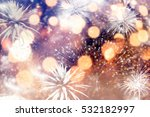 abstract holiday background  ... | Shutterstock . vector #532182997