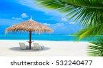 beach in maldives | Shutterstock . vector #532240477