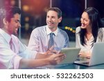 3d smiling businessman... | Shutterstock . vector #532262503