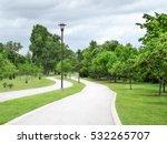 A Walking Pathway Alongside Th...