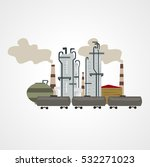 oil industry | Shutterstock . vector #532271023