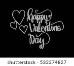 happy valentine's day... | Shutterstock .eps vector #532274827